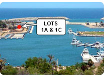 Commercial lots in Los Cabos, Marina Front Commercial
