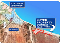 Development land next to Cabo Riviera, East Cape, Los Cabos