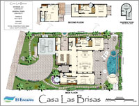 Floorplan of Casa La