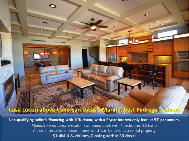 Home Casa Lucazi - Pedregal's best view - Baja International Realty BIRcabo